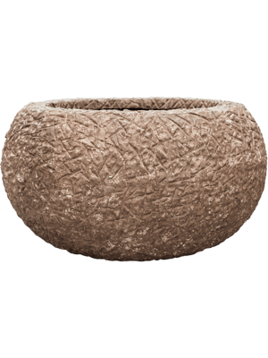 Polystone Coated Kamelle Bowl Rock 93 - Bac