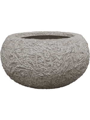 Polystone Coated Kamelle Bowl Raw Grey 93 - Bac