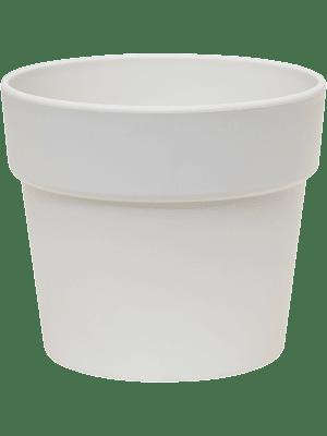 Indoor Pottery Classic Pot kunststof 16/14 cm wit mat (13/12) 16 - Plantenbak