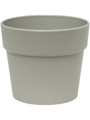 Indoor Pottery Classic Pot kunststof 16/14 cm kiezelgrijs mat (13/12) 16 - Plantenbak