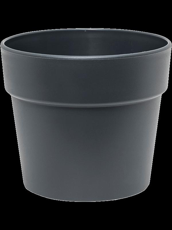 ter steege Indoor Pottery Classic Pot kunststof 16/14 cm antracietgrijs mat (13/12) 16 - Plantenbak - Main image