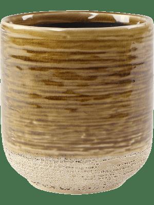 Issa Pot Yellow 10 - Planter