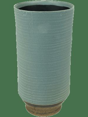 Indoor Pottery Pot High Suze Blue (per 6 pcs.) 13 - Plantenbak