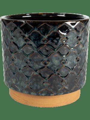 Mees Pot Vintage Black 11 - Planter