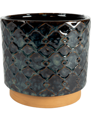 Mees Pot Vintage Black 16 - Planter