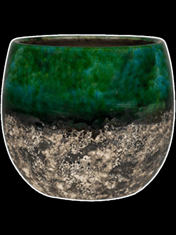 ter steege Lindy Pot Green Black 16 - Plantenbak - Main image