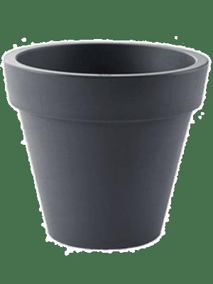 Pure® Round Anthracite 49 - Planter
