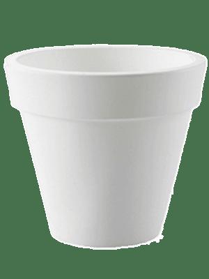 Pure® Round White 49 - Planter