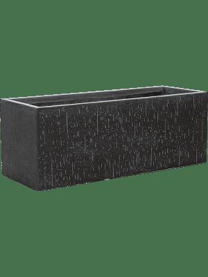Raindrop Rectangle anthracite  - Pflanzgefasse