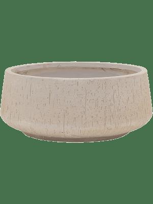 Raindrop Bowl beige 44 - Pflanzgefasse