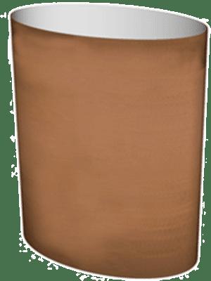 Cortenstyle® Big Oval Sur anneau  - Bac