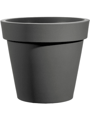Rotazionale Easy Round Pot Anthracite 35 - Planter