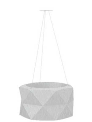 Marquis Basic suspendue couleur: 50 - Bac